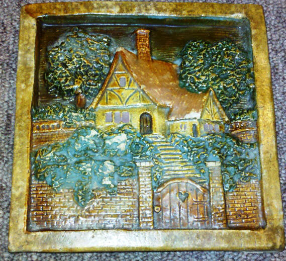 arts and crafts tile murals